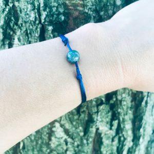 verstelbaar armbandje | blue passion