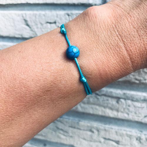 verstelbaar armbandje | blue sky