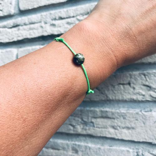 verstelbaar armbandje   green treasure