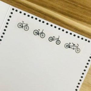 washi tape / masking tape | fietsen