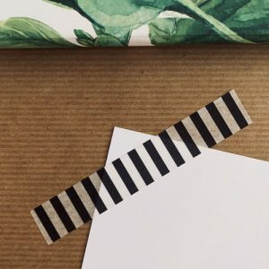 washi tape / masking tape | strepen