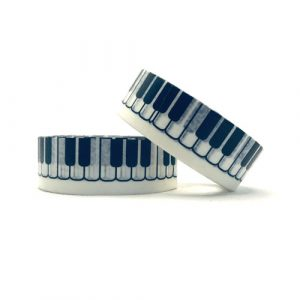 washi tape | piano / keyboard