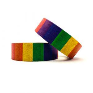 washi tape | rainbow