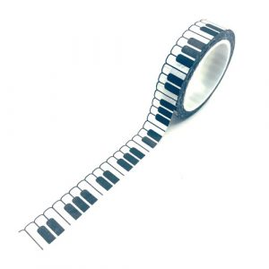 washi tape | rol | piano / keyboard
