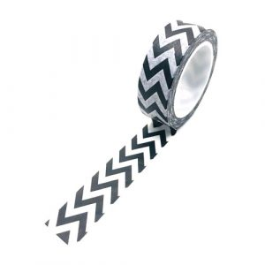 washi tape   rol   zigzag