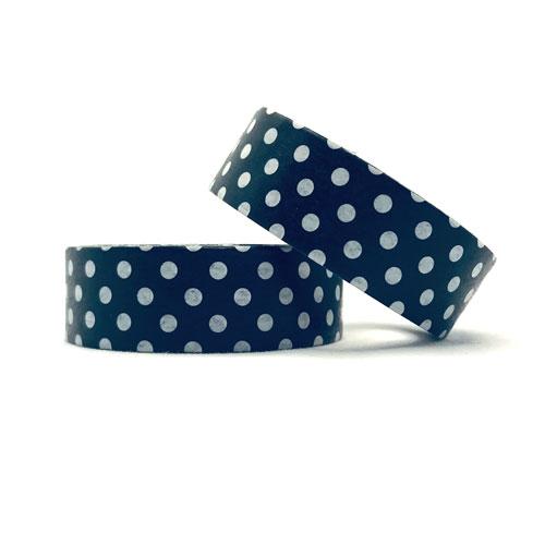 washi tape | witte polkadots